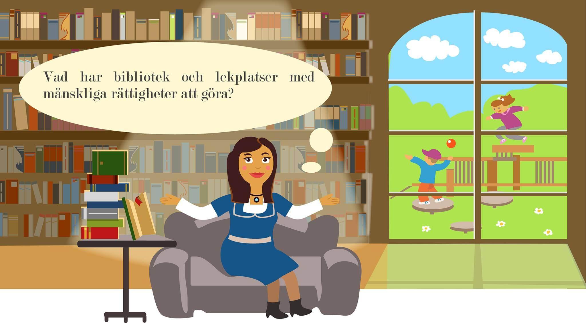 Hanna and Goliath fortbildar personal på bibliotek och simhallar i Skellefteå och Umeå